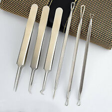 1 Set  Acne Needle Stainless Tools Comedone Extractor Pimple Blackhead Remover