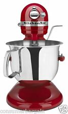 KitchenAid R-KSM6573ER 6QT 600 PRO HEAVY DUTY 10SPd LIFT STAND MIXER EMPIRE RED