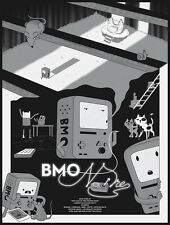 """BMO Noire"" from Bottleneck Gallery's show ""Gizmos and Gadgets"" Adventure Time"