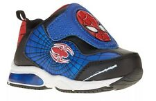 BOYS SPIDER MAN LIGHT UP ATHLETIC SHOES SIZE 7