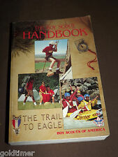 VINTAGE BSA BOY SCOUTS OF AMERICA BOOK 1990 HANDBOOK THE TRAIL TO EAGLE