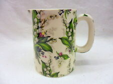 Lilly of the valley chintz jug pitcher jug by Heron Cross Pottery