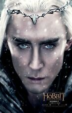 The Hobbit poster - Lord Of The Rings movie poster - Lee Pace poster