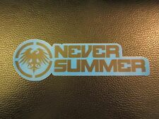NEVER SUMMER SNOWBOARD SKATEBOARD DECAL STICKER