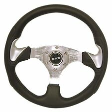 320mm Moulded Steering Wheel - Silver Thumb Spats - M Range M32X3PPAS - Mountney