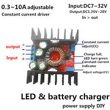 LED DC 10A CV Constant Current Step Down Regulator Power Supply Battery Charger