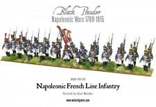 Warlord Games Polvo Negro Napoleónicas French Line Infantry 1806-1810 (24)