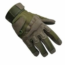 Men Tactical Airsoft Hunting Mad Cheap Shooting Motorcycle Army Green Gloves XL