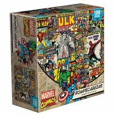 COLLECTIBLE MARVEL® COMICS 1000 PC Jigsaw Puzzle FROM MEXICO. Ages +8