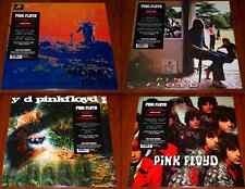 PINK FLOYD 4x LP VINYL Lot PIPER GATES SAUCERFUL OF SECRETS MORE UMMAGUMMA New