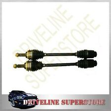 TWO BRAND NEW CV JOINT DRIVE SHAFTS for SUBARU FORESTER 2000- 05/2002