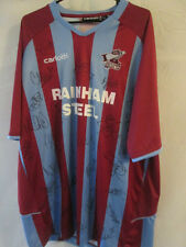 Scunthorpe United Home Football Shirt Signed by 2009-2010 Squad with COA (11124)