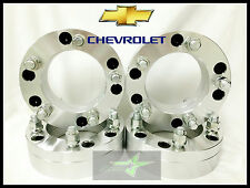 "4 WHEEL ADAPTERS 6X5.5 TO 5X5.5 | USE 5 LUG WHEELS ON 6 LUG CAR | 2"" INCH THICK"