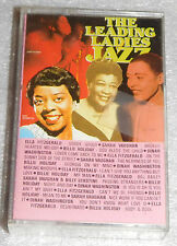 Leading Ladies Jazz Audio Cassette Ella Fitzgerald Billie Holiday Sarah Vaughan