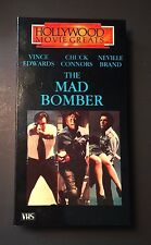 The Mad Bomber (VHS 1973) Vince Edwards, Chuck Connors, Neville Brand - Thriller