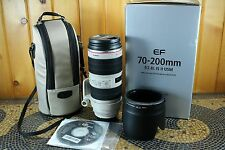 Canon EF 70-200mm f/2.8 II IS L USM Lens perfect condition!