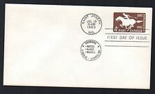 U543 -- Pony Express envelope -- First Day Cover