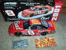 2001 Dale Earnhardt Jr. #8 Budweiser/Talladega Win/Raced Version 1/24 Action