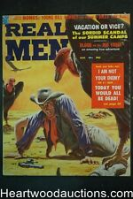 Real Men Aug 1958 Clarence Doore Cvr- NAPA