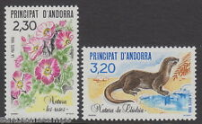 ANDORRA - 1990 Nature Protection (2v) - UM / MNH
