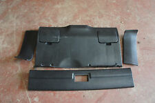 Honda CRX Civic 90-92 JDM SiR VT EF8 EE8 Mk2 Black Rear Plastic Trim Plastics