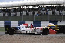 9x6 Photograph Taki Inoue  Footwork-Cosworth FA16 , British GP Silverstone 1996