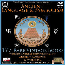 177 Vintage Ancient Symbol Symbolism Language Text Freemason Illuminati Occult /