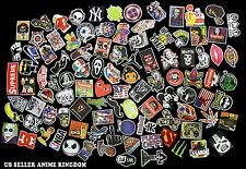 USA Seller 100 random Skateboard Vintage Vinyl Sticker Laptop Car Decal Luggage