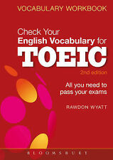 Check Your English Vocabulary for TOEIC: Essential words and phrases to help you