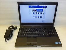 Dell Precision M4600 2.20ghz Quad Core i7 8GB Ram 250GB DVD Windows 10 Pro 64