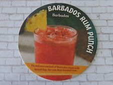 Beer Coaster  *  Barbados Rum Punch with MOUNT GAY Rum ~  ~ Parrot Passion Drink