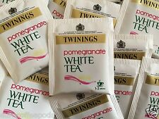 Twinings Pomegranate White Tea 100 Individual Envelope Teabags