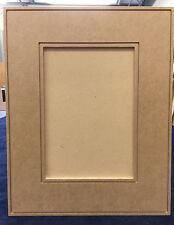 Custom, Cut to size, MDF, Contemporary recess panel cabinet door, drawer fronts