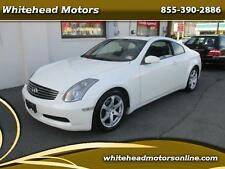 Infiniti : G Coupe with L