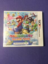 Mario Party Island Tour 3DS *First Print* in White Case NEW