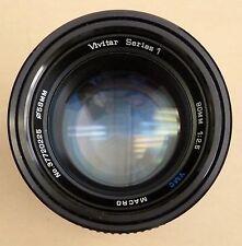 Vivitar Series 1 90mm f2.5 Macro Manual Focus Lens and Adapter, FD mount