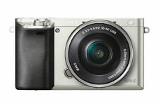 Sony Alpha a6000 Mirrorless Digital Camera with 16-50mm Lens Basic Kit (Silver)