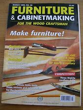 English FURNITURE and CABINETMAKING monthly magazine  issue no. 26  March 1999
