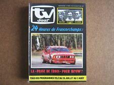 TV JOUR 84/30 (25/7/84) 24 HEURES DE FRANCORCHAMPS