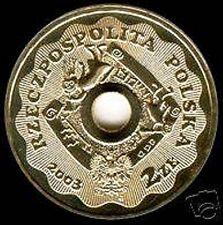 Moneta 2zł - 10 lat WOŚP