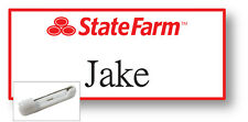 1 NAME BADGE HALLOWEEN COSTUME JAKE FROM STATE FARM PIN FREE SHIPPING