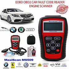 MaxiScan MS509 Scanner CAN OBD2 Fault Code Reader Equipment Diagnostic UK STOCK