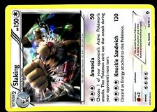 POKEMON XY3 (Furious Fists) HOLO N°  83/111 SLAKING 150 HP Attack 120