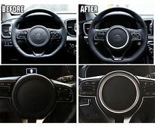 New! Chrome Steering Wheel Center Circle Cover Bezel Trim for Kia Optima 2016