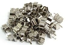 100x FUSE CLIP HOLDERS FOR 5 x 20mm FUSE TUBE GLASS UK SELLER