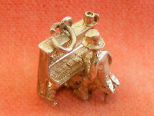 NUVO VINTAGE STERLING SILVER CHARM PIANIST PLAYING THE PIANO MOVES