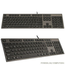 A4TECH KV-300H ULTRA FLAT X-SCISSOR KEYBOARD. 2 X USB. EXCELLENT QUALITY.