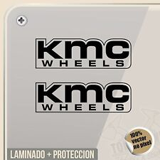 PEGATINA KIT KMC WHEELS VINYL STICKER DECAL AUFKLEBER AUTOCOLLANT