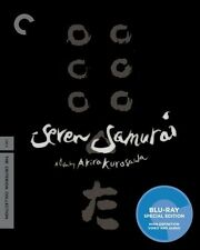 Seven Samurai [Criterion Collection] [2 Discs] (2010, REGION A Blu-ray New)