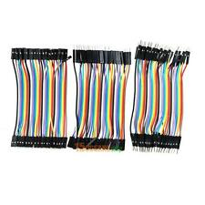 120pcs Male/FemaleColor Ribbon Line Breadboard Dupont Cable Jump Jumper Wire